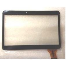 """10.1"""" Тачскрин для планшета Ginzzu GT-X831, тип 2 черный/белый"""